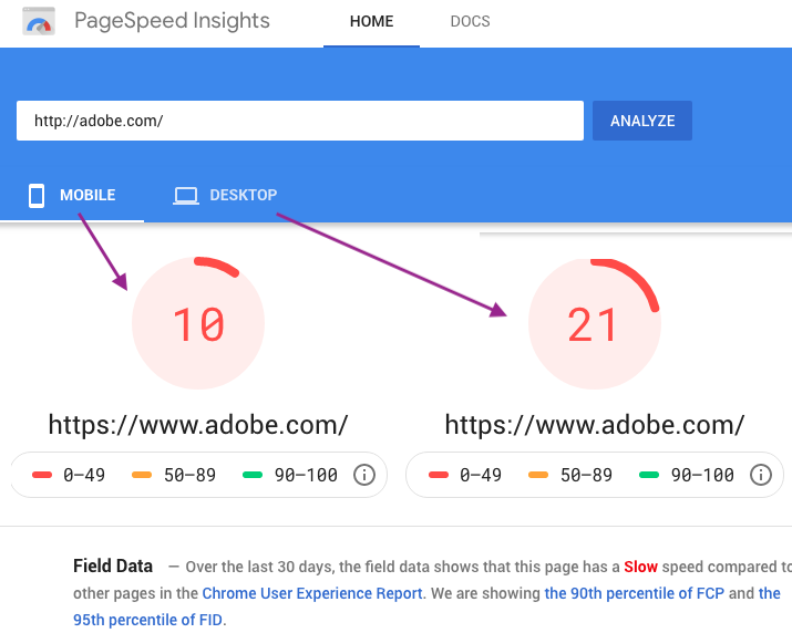 Googledev Pagespeed Insights - Search3w
